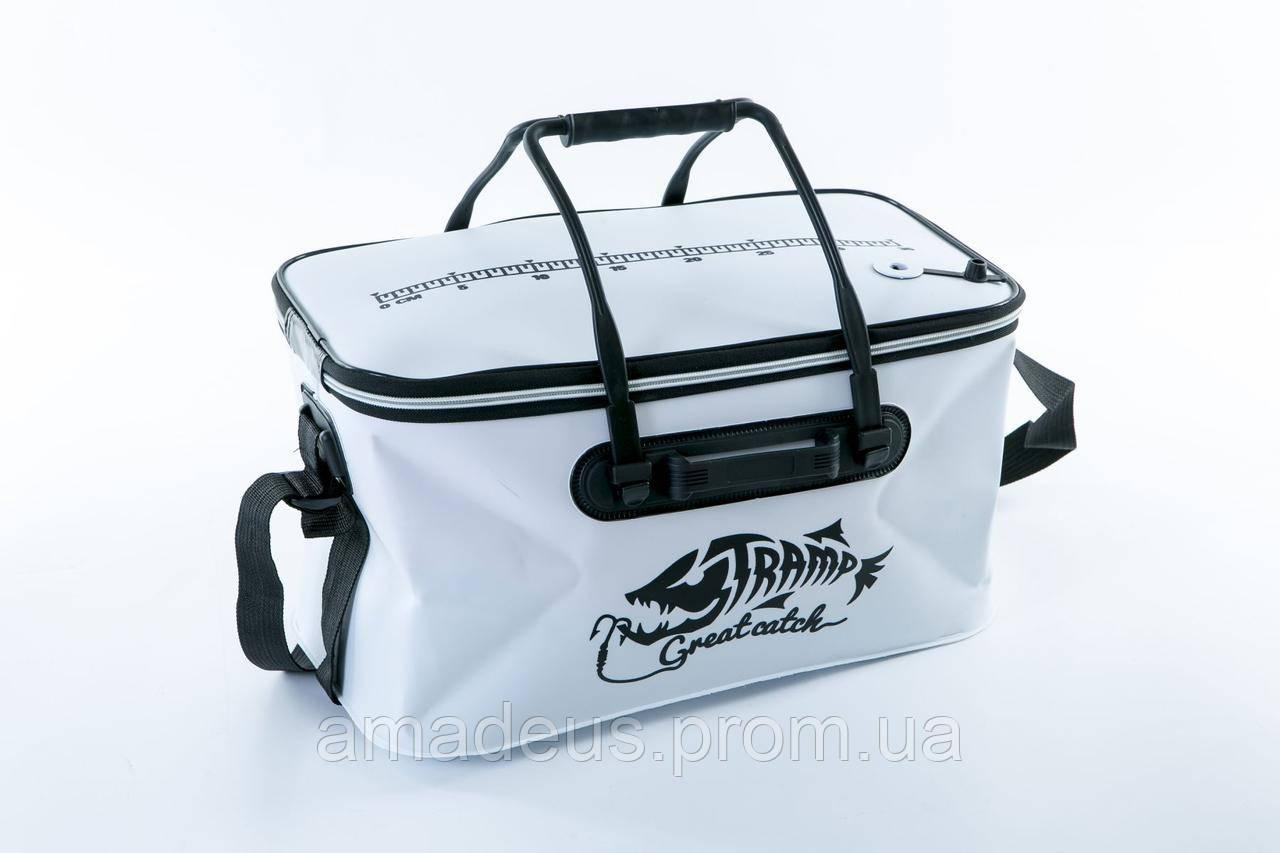 Сумка рыболовная Tramp Fishing bag EVA White - M