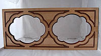 Фасад для кухни под стекло коричневый, фото 1