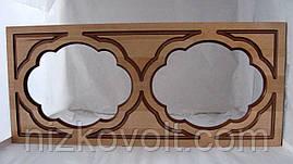 Фасад для кухні під скло коричневий (290*660*18)