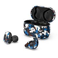Беспроводные Bluetooth наушники Sabbat E12 Ultra Caribbean c поддержкой aptX (Черно-синий)