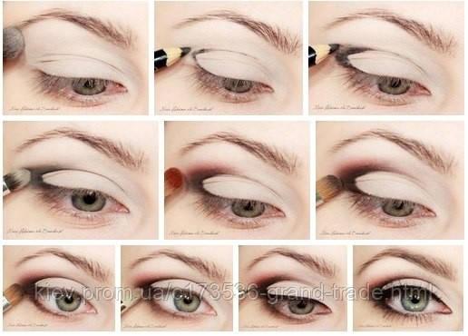 Макияж глаз и карандащная техника