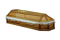 Гроб (саркофаг) дубовый восьмигранный Premium