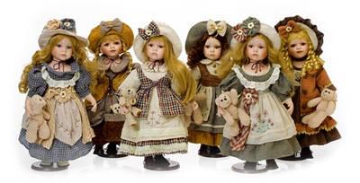 Фарфоровые куклы ЕВРОПА