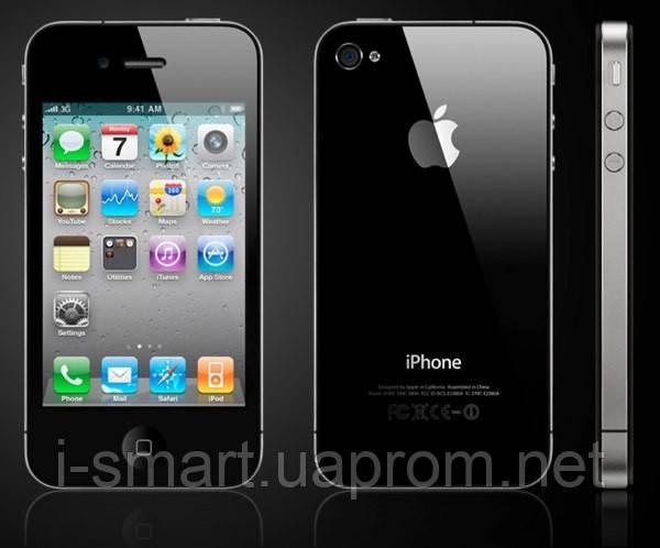 Телефон Q5 Dual SIM — копия iPhone 4G на 2 SIM + WI-FI, FM, MP3, MP4, WAP