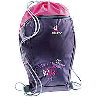 Мешок для обуви DEUTER SNEAKER BAG 3890115 (3029 blueberry butterfly) (код 239-255238)