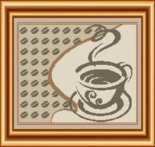 Схема для вишивки бісером Філіжанка кави. Арт. ВКВ-60