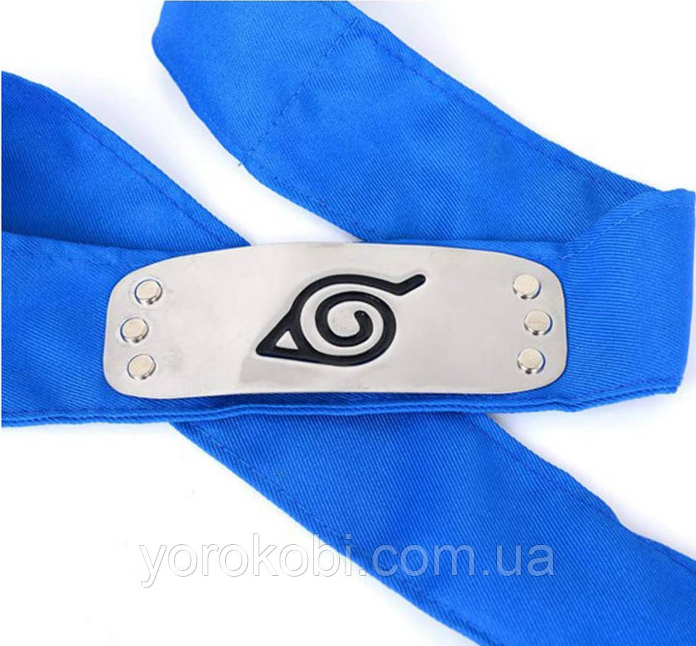 Бандана Схованого Аркуша (синя)   Наруто