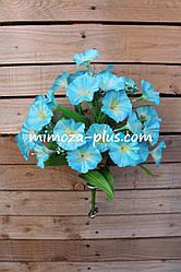 Искусственные цветы - Колокольчик букет, 40 см
