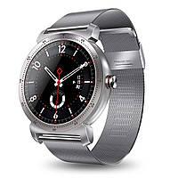 Розумні годинник Lemfo K88h Metal Plus з сенсорним дисплеєм (Сріблястий)