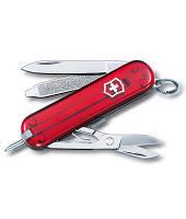 Нож Victorinox Викторинокс Signature 58 мм 7 предметов красный