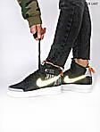 Чоловічі кросівки Nike Air Force 1 Low '07 LV8 Utility High Рефлективні (чорні) KS 1407, фото 3