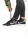 Чоловічі кросівки Nike Air Force 1 Low '07 LV8 Utility High Рефлективні (чорні) KS 1407, фото 6