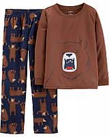 Теплая флисовая пижама Картерс для мальчика