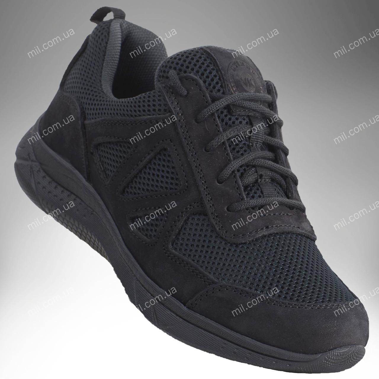 Тактические летние кроссовки / военная обувь, армейская спецобувь ENIGMA Stimul (черный)