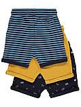 Стильные трикотажные шортики с отворотами Джордж для мальчика (поштучно), фото 2