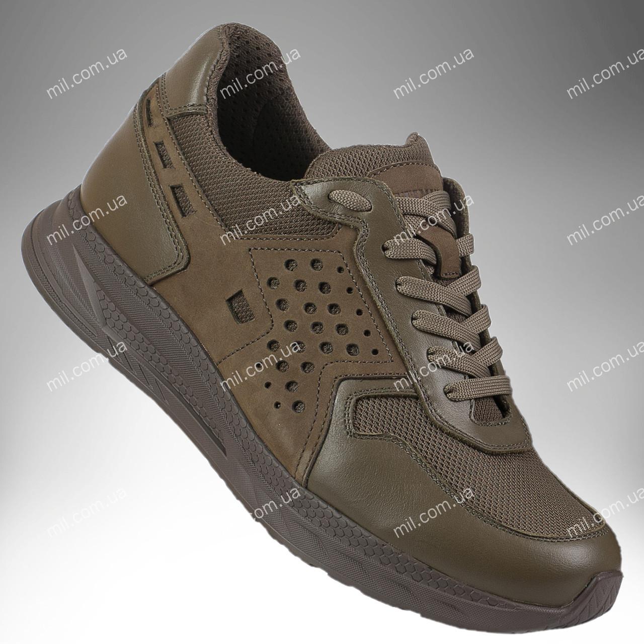 Тактические летние кроссовки / армейская военная обувь RANGER Force Stimul (olive)