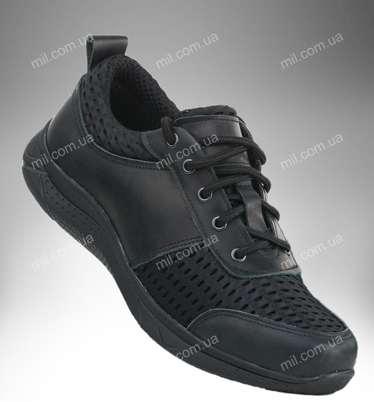 Военные кроссовки / летняя тактическая обувь PATRIOT Vent (black)