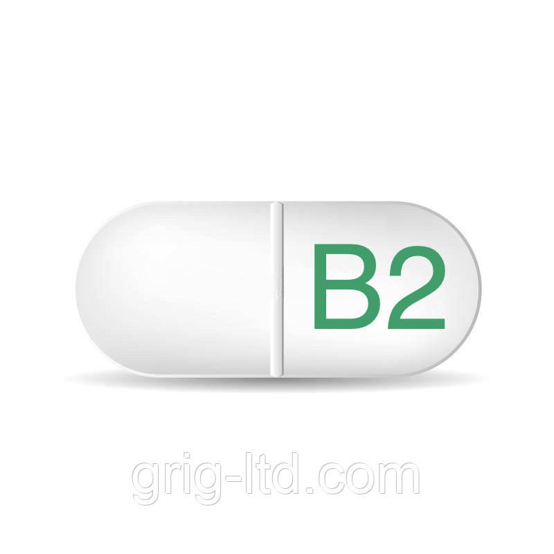 Витамин В2 (рибофлавин) 80 %