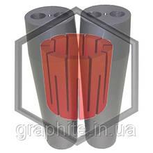 Фильера двухканальная для машин непрерывного литья