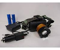 Налобный фонарь Bailong BL POLICE 6968 5000W T6 фонарик 1050 Lumen