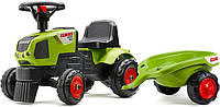 Трактор каталка с прицепом Falk Claas Axos 310