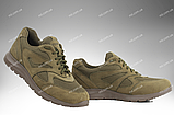 Тактические кроссовки / летняя военная обувь, армейская спецобувь SICARIO (хаки), фото 2