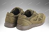 Тактические кроссовки / летняя военная обувь, армейская спецобувь SICARIO (хаки), фото 6