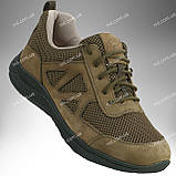 Тактические кроссовки / военная летняя обувь, армейская спецобувь ENIGMA (шоколад), фото 8