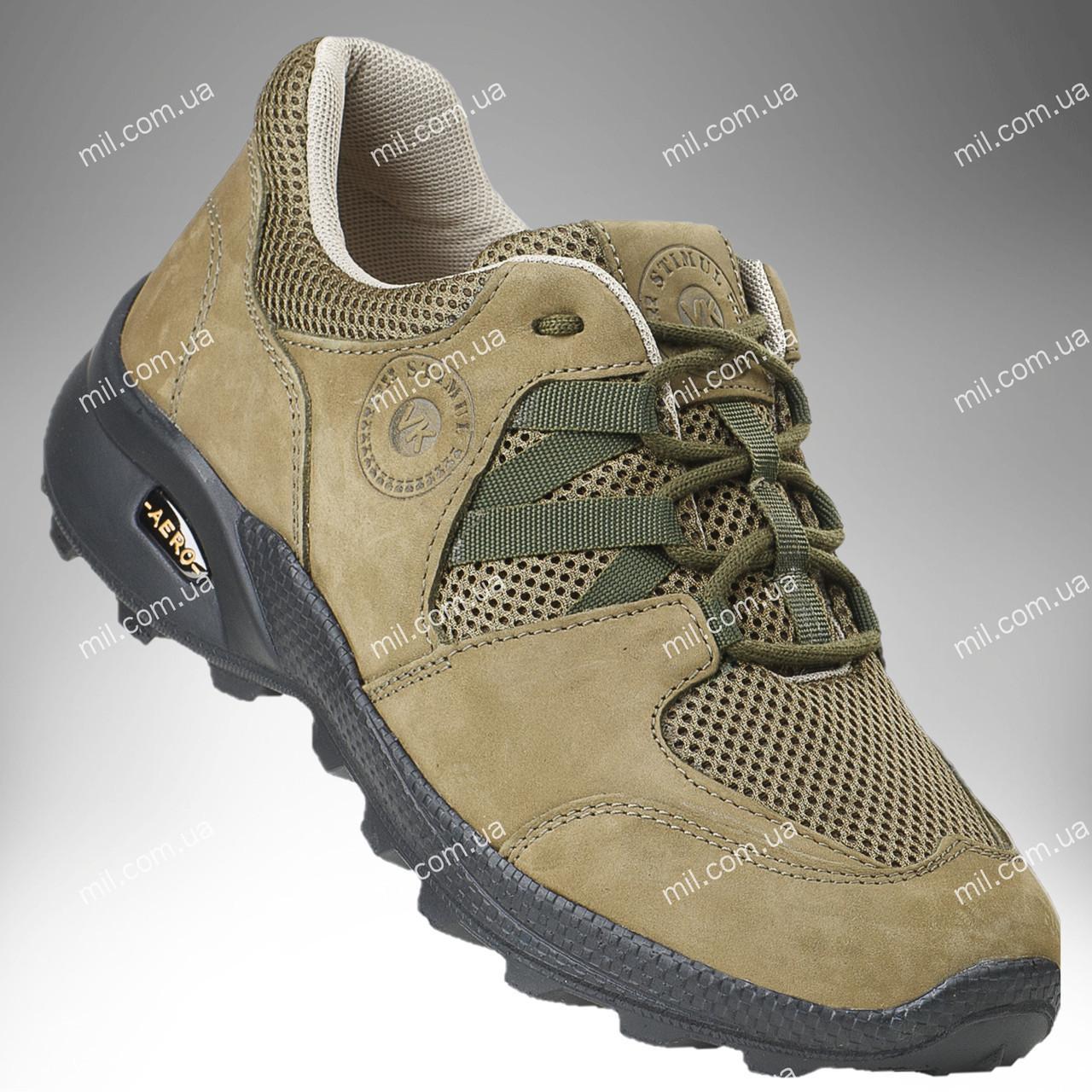 Тактические кроссовки на лето / треккинговая военная обувь, армейская спецобувь PEGASUS (хаки)