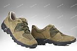Тактические кроссовки на лето / треккинговая военная обувь, армейская спецобувь PEGASUS (хаки), фото 2