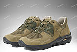 Тактические кроссовки на лето / треккинговая военная обувь, армейская спецобувь PEGASUS (хаки), фото 5