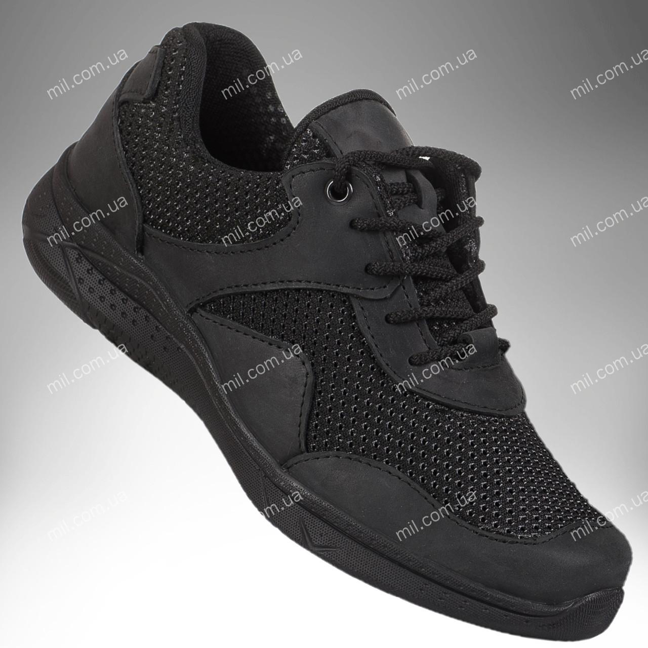 Военные летние кроссовки / тактическая обувь, армейская спецобувь GENESIS Vent (black)