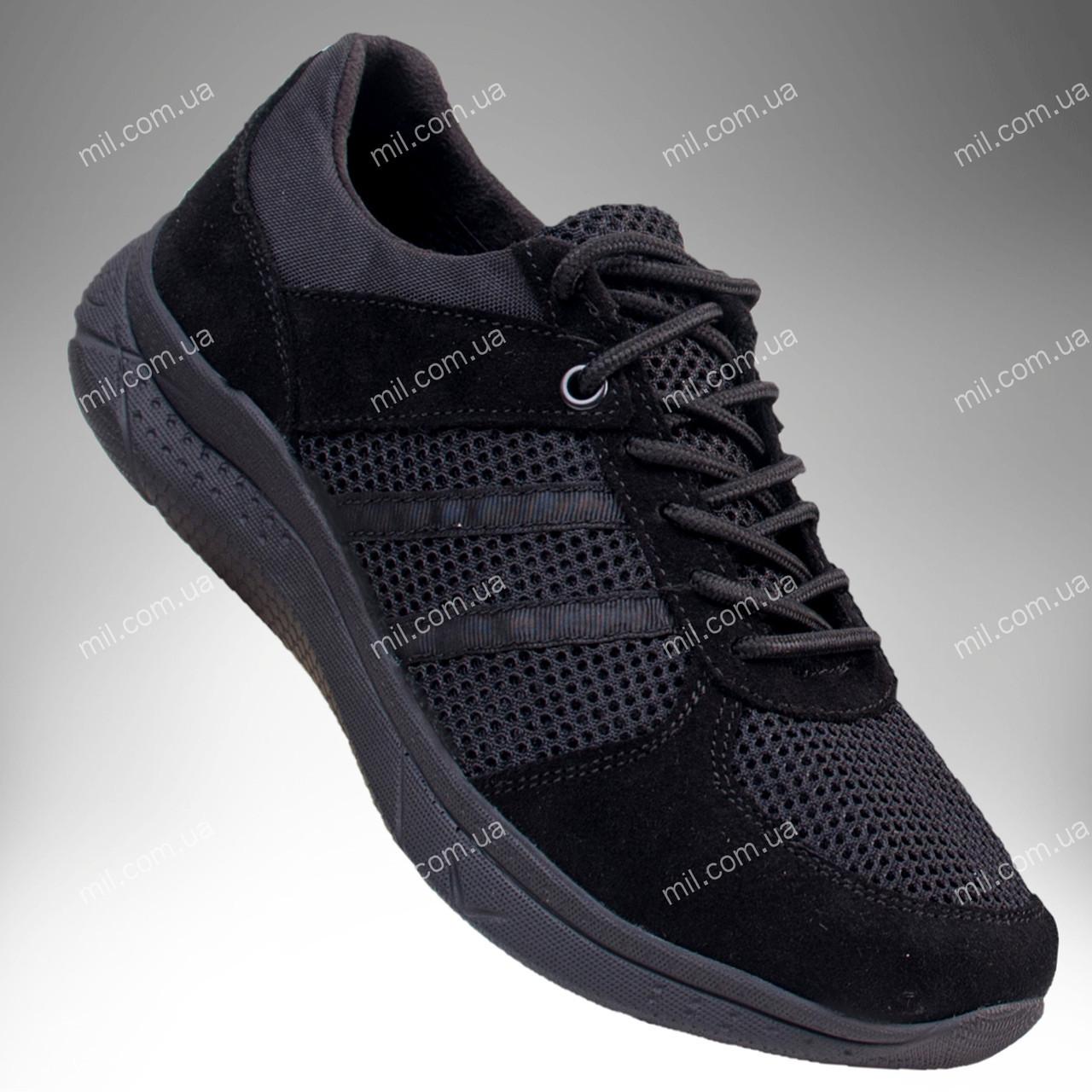 Летние облегченные кроссовки АХИЛЕС (черный)