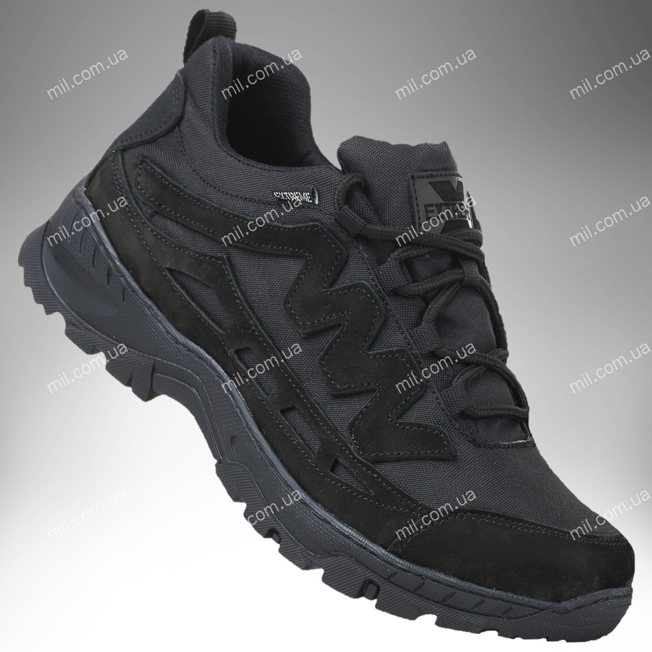 Тактические летние кроссовки / военная обувь Comanche Gen.II (black)