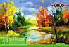Альбом для малювання, А4, 40 аркушів, 100 г/м2, клеєний блок ZB.1460 ZIBI