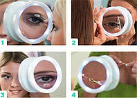 Зеркало для макияжа с подсветкой Swivel Brite
