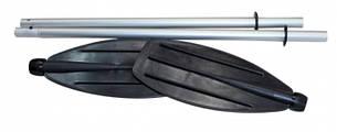 Весло байдарочное Borika 4-х секційне розбірне, довжина 225 см (для початківців), фото 2