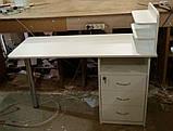 Стол для маникюра с тумбой E0008, фото 5