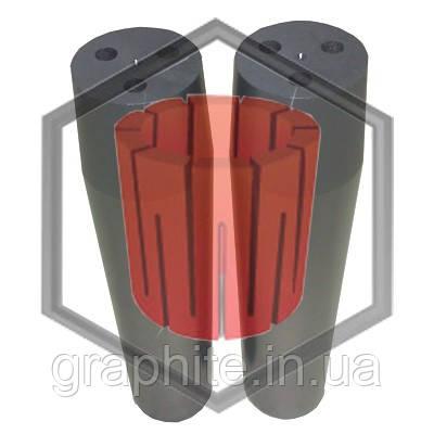 Фильера трехканальная для машин непрерывного литья