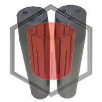 Фильера трехканальная для машин непрерывного литья, фото 1
