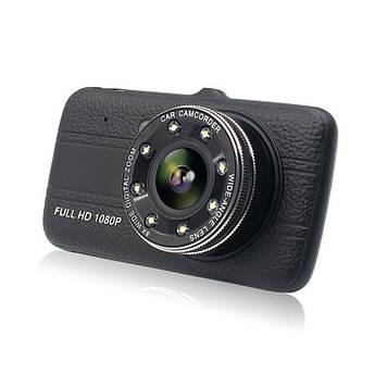 Відеореєстратор Noisy DVR G520 Full HD з виносною камерою заднього виду (hub_3sm_678849412)