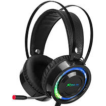 Наушники игровые XTRIKE ME Gaming RGB Backlight GH 708 black