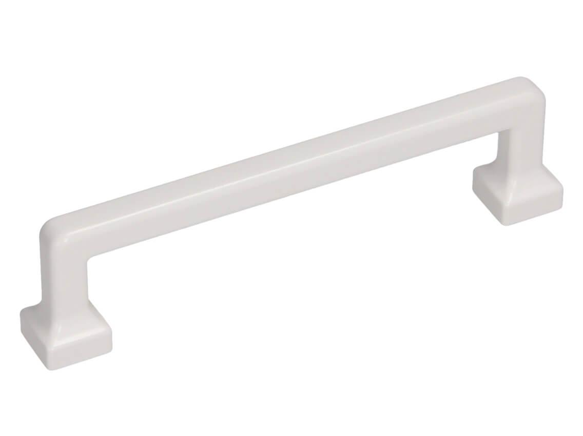 Ручка меблева скоба GAMET UR47-0128-LPM40 білий
