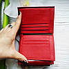Жіночий шкіряний гаманець ST leather BC410 red червоний лаковий УЦІНКА, фото 7