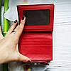 Жіночий шкіряний гаманець ST leather BC410 red червоний лаковий УЦІНКА, фото 6