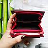 Жіночий шкіряний гаманець ST leather BC410 red червоний лаковий УЦІНКА, фото 5