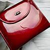 Жіночий шкіряний гаманець ST leather BC410 red червоний лаковий УЦІНКА, фото 4