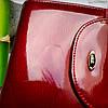 Жіночий шкіряний гаманець ST leather BC410 red червоний лаковий УЦІНКА, фото 3