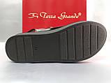 Стильные кожаные босоножки металик Terra Grande, фото 10