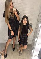 Family look набор платьев для мамы дочки